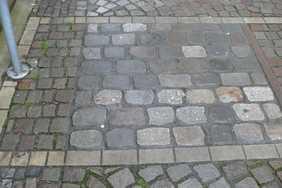 Musterfläche Markplatz Warendorf